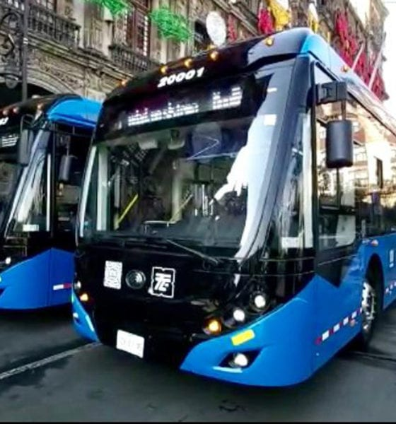 Nuevas unidades de Trolebús circularán en la CDMX