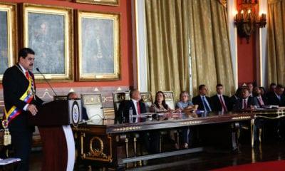 Suspenden inmunidad a diputados de Venezuela por rebelión