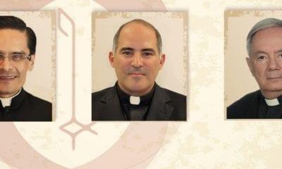 Tres Obispos Auxiliares Para La Arquidiócesis De México