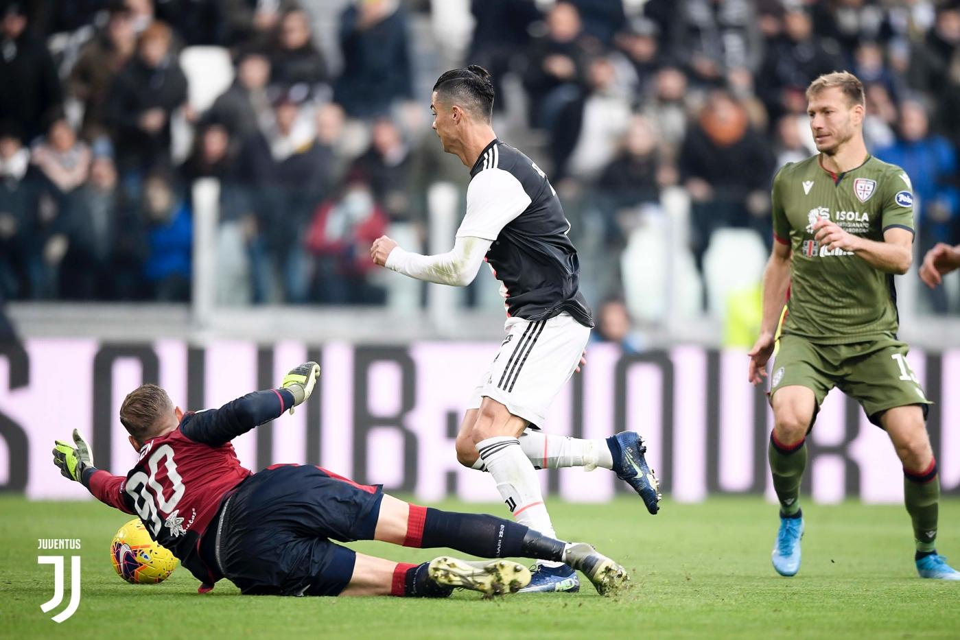 Consigue Cristiano Ronaldo hat-trick- Foto: Juventus