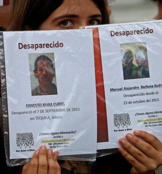 Jalisco encabeza lista de personas desapariciones