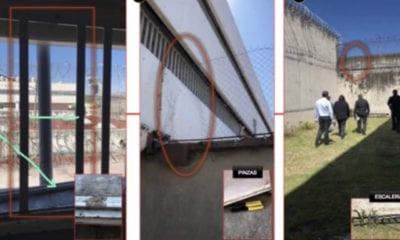 Custodios participan en fuga de reos del Reclusorio Sur