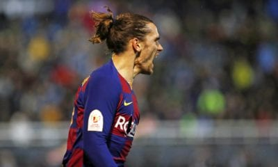 Griezmann salvó al Barcelona. Foto: Twitter