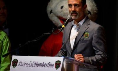 Guillermo Cantú, nuevo presidente de los Bravos de Juárez. Foto: FC Juárez
