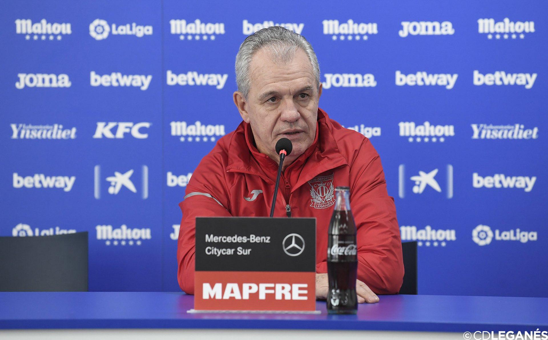 """Difícil futuro del Leganés dle """"Vasco"""" Aguirre. Foto: Leganés"""