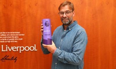 Descarta Jürgen Kloop que le interesen los récords con Liverpool. foto: Liverpool
