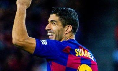 Luis Suárez, el MVP de LaLiga. Foto: Barcelona