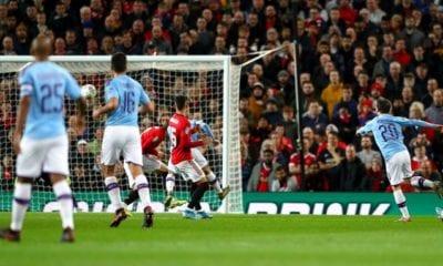 Manchester City superó al Manchester United. Foto: Twitter