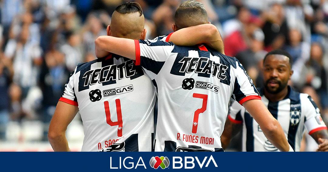 Monterrey y Morelia dividen puntos. foto: Liga MX