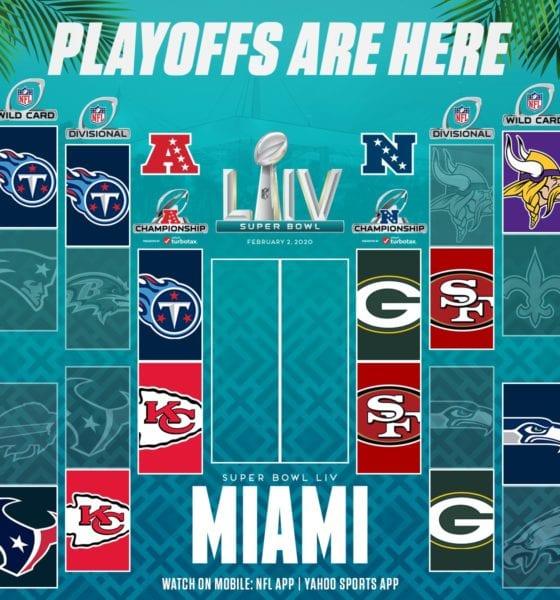 Quedaron definidas las finales de conferencia de la NFL. Foto: Twitter NFL