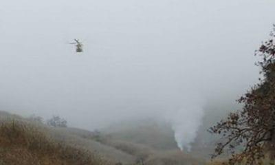 Neblina habría provocado el accidente del helicóptero en el que murió Kobe Bryant. Foto Twitter