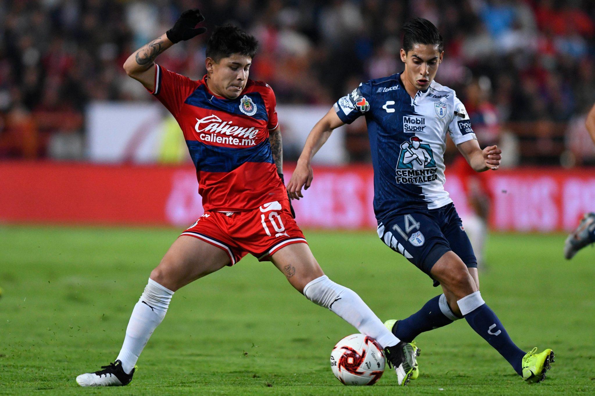 Pachuca y Chivas igualaron a cero. Foto: Chivas