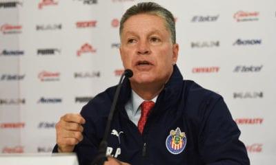 Ricardo Peláez quiere que Chivas rebase al América. Foto: Twitter