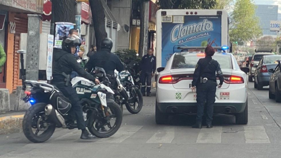 Suspenden a policías que agredieron a portero de Pumas. Foto: Twitter
