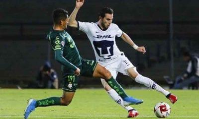 Pumas cayó con Santos. Foto: Twitter