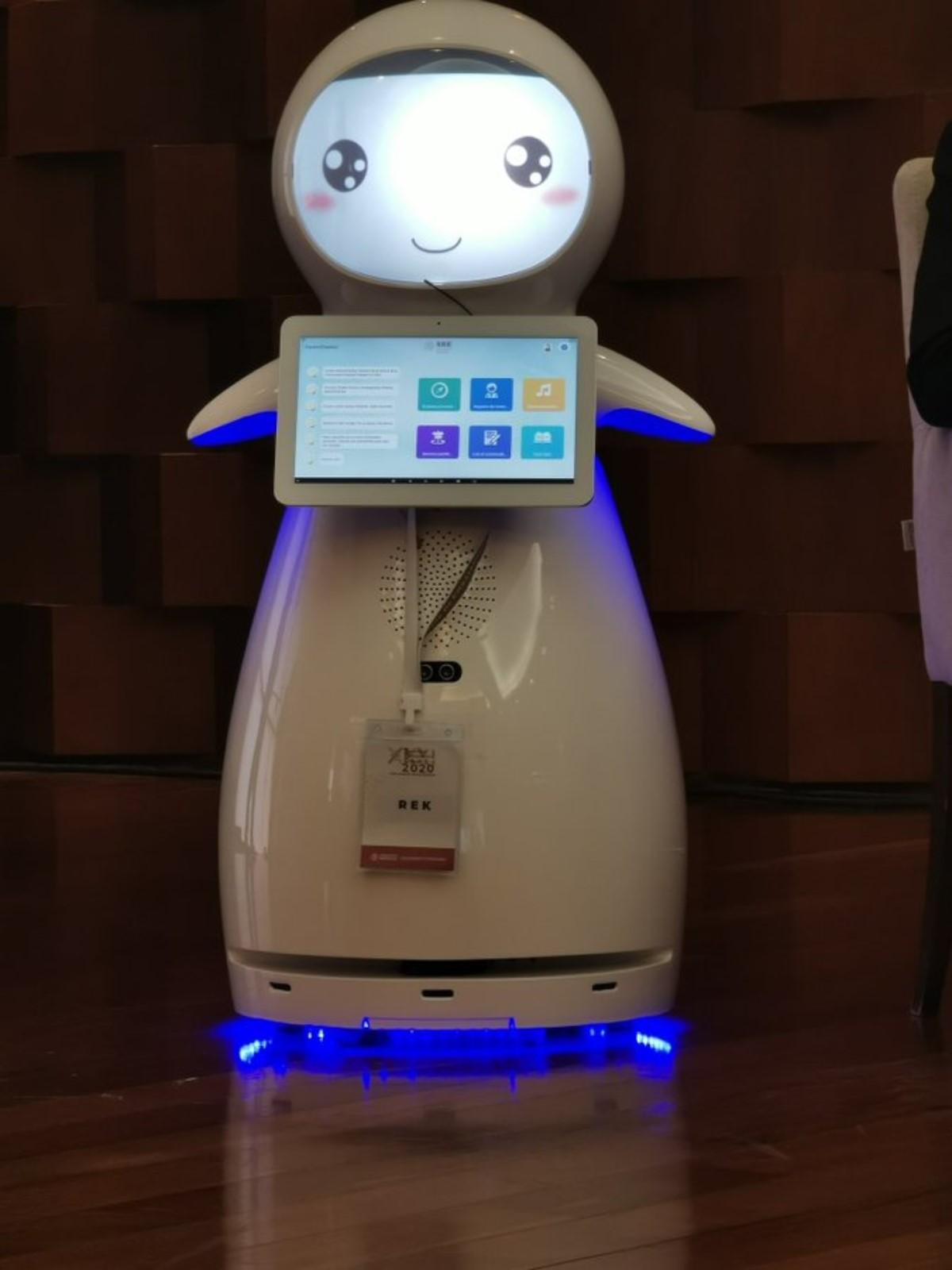 El nuevo robot de la SRE