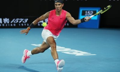 Nadal, a los cuartos de final del Abierto de Australia. Foto: Australian Open