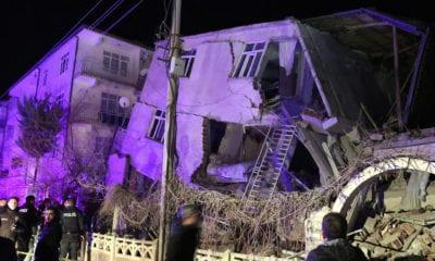 Aumentan las víctimas por el terremoto en Turquía