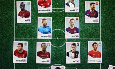 Messi y CR7 en el once ideal de la UEFA. Foto: UEFA