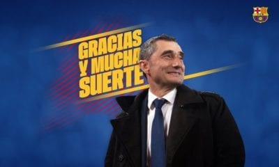 Valverde queda fuera del Barcelona. Foto: Twitter