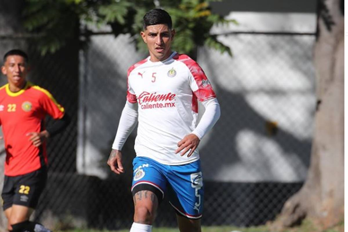 Víctor Guzmán se defiende. Foto: Instagram