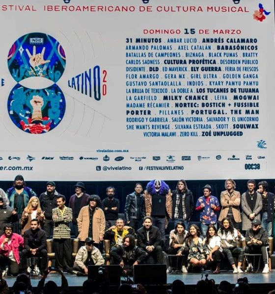 Vive Latino 2020 conferencia de prensa