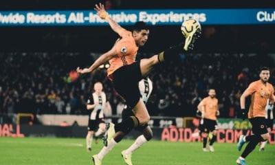 Wolverhampton no pudo con Newcastle. Foto: Twitter