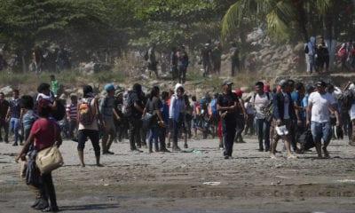 México descarta crisis migratoria por ingreso de caravana