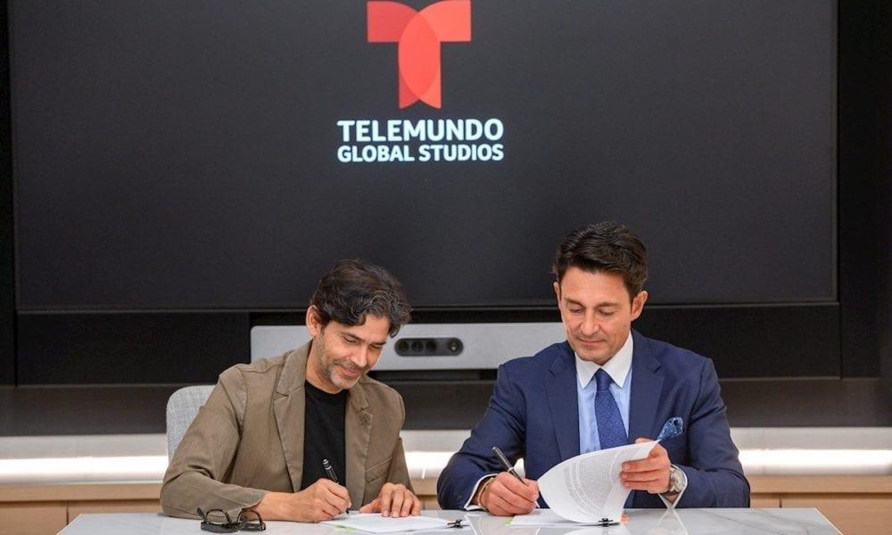 Fernando Colunga firma exclusividad con Telemundo - Siete24