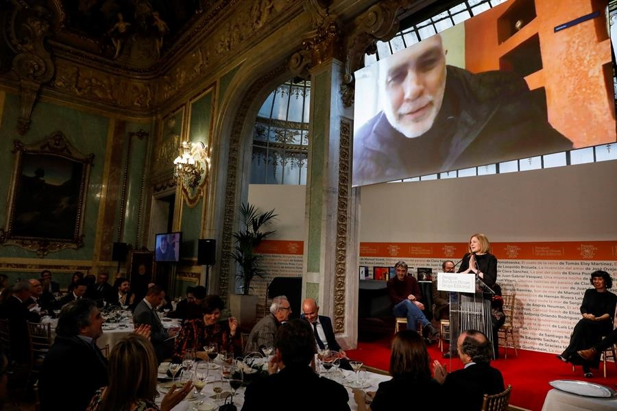 Guillermo Arriaga ganador del Premio Alfaguara de Novela