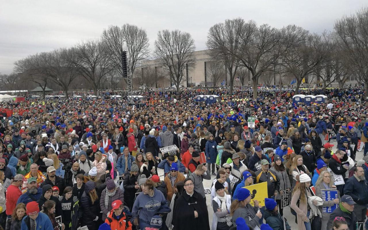 Exitosa marcha por la vida en Washington