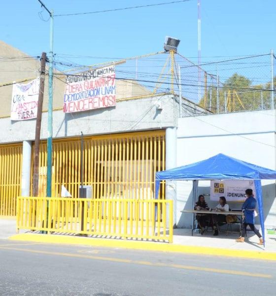 UNAM instala mesas para recibir denuncias en planteles cerrados