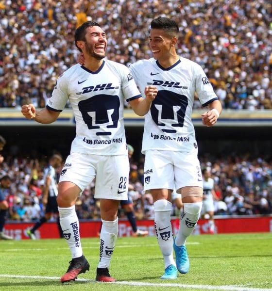 Pumas le pegó a Monterrey. Foto: Liga MX