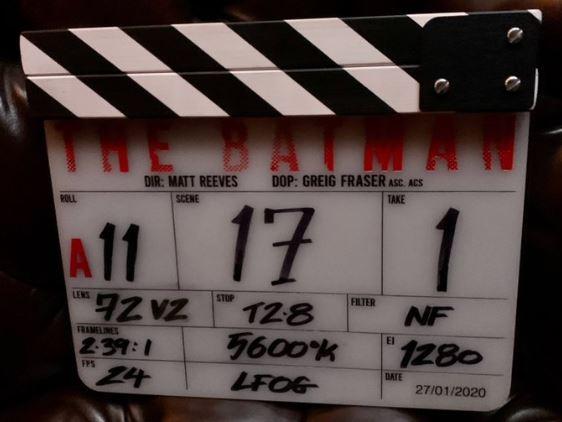 """Claquetazo de """"The Batman"""""""