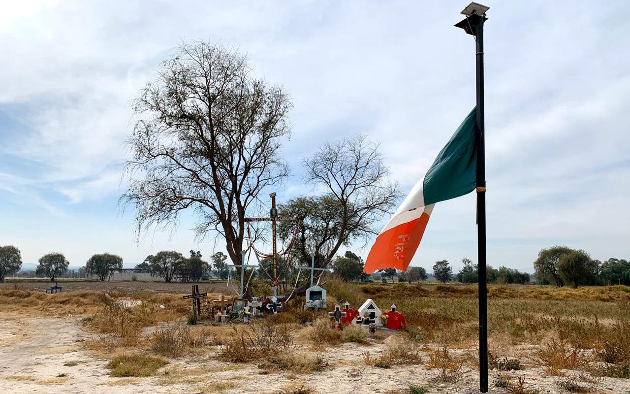 Entre cruces, Tlahuelilpan recuerda su tragedia