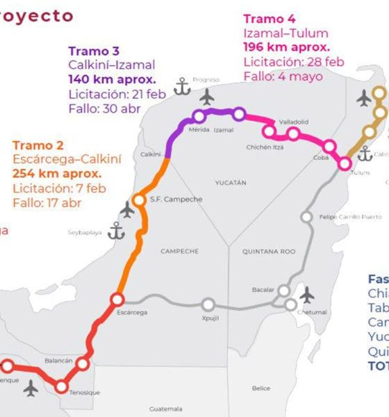 """Comunidades indígenas descarrilan """"Tren Maya"""""""