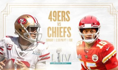Chiefs y 49ers por la conquista del Super Bowl LIV. Foto: 49ers