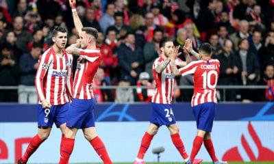 Atlético de Madrid dio el primer golpe. Foto: Atlético de Madrid