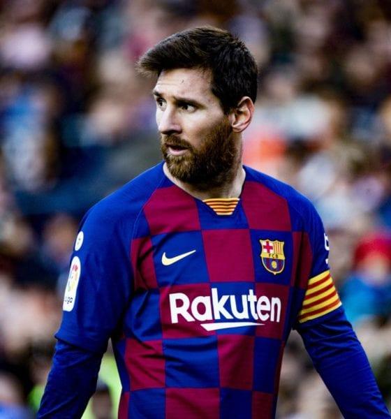 Barcelona atacaba incluso a Messi. Foto: Barcelona