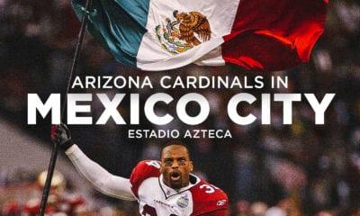 Cardinals regresa a México. Foto NFL