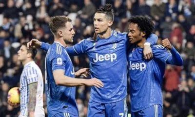Cristiano Ronaldo imparable en la victoria de la Juventus