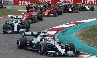 Suspenden el Gran Premio de China de la Fórmula 1