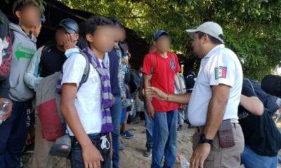 México no reprime a migrantes: Ebrard