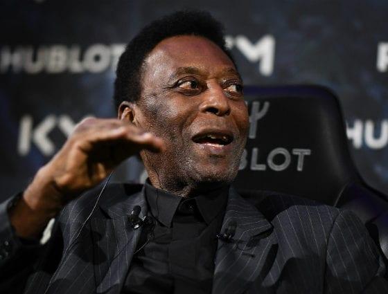 Pelé, en perfecto estado mental y físico