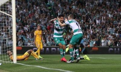 Santos doma a los Tigres. Foto: Santos