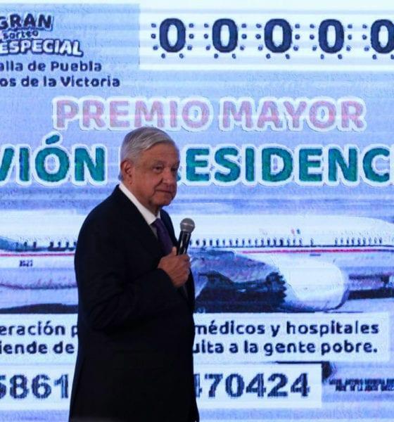 """""""Es muy probable la rifa del avión presidencial"""" AMLO"""