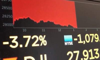 Temor a coronavirus desploma mercados financieros