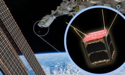 Nanosatélite mexicano AztechSat-1 inicia su misión en el espacio