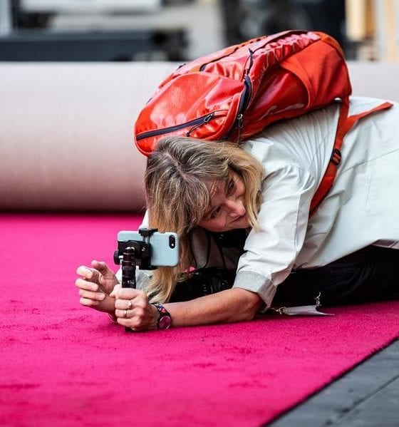 Instalan la alfombra roja para el Oscar