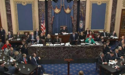 """Senado declara inocente a Trump en el """"impeachment"""""""